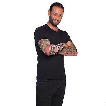 Tatuointi hihat Skeleton Rocker Arms tatuointi hihat