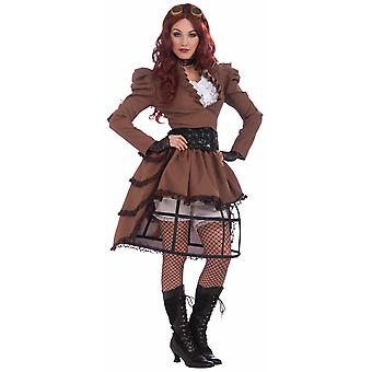 Vicky Steampunk Victorian Industrial Western 19th Science Fiction Women Costume