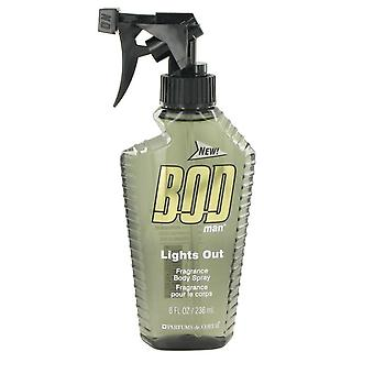 Bod Man Lights Out Body Spray By Parfums De Coeur   500718 240 ml
