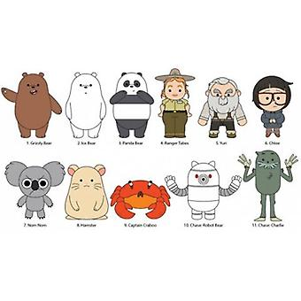 Key Chain - 3D PVC Foam Collectible - We Bare Bears New 74020