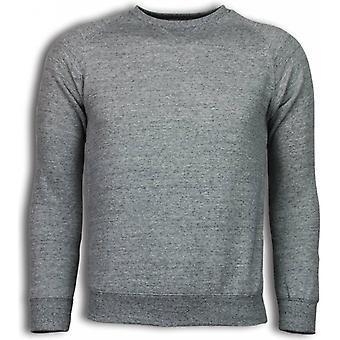 Basic Fit crewneck-camisola-cinzento