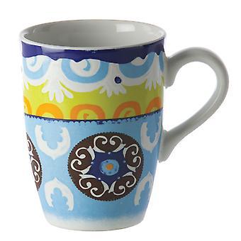 Rose & Tulipani Nador Mug , Blue
