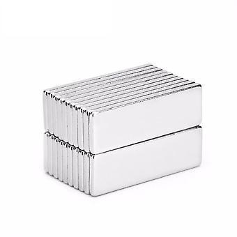 Neodym Magnet 30 x 10 x 2 mm Quader N35 - 25 Stück