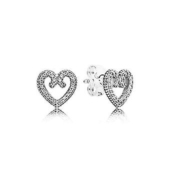 Pandora Silver Women's Stud Earrings - 297099CZ