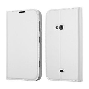 Cadorabo tapauksessa Nokia Lumia 625 tapauksessa tapauksessa kansi - puhelimen tapauksessa magneettilukko, seistä toiminto ja korttiosasto - Case Cover Suojakotelo tapauksessa Kirja Folding Style
