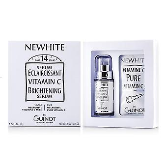 Guinot Newhite Vitamin C Brightening Serum (brightening Serum 23.5ml/0.8oz + Pure Vitamin C 1.5g/0.05oz) - 2pcs