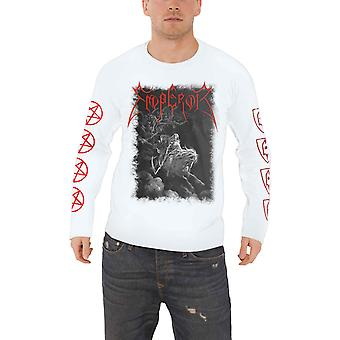 Emperor T Shirt Rider 2019 Band Logo new Official Mens White Long Sleeve