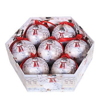Straits 7 Piece Snowman Bauble Gift Box