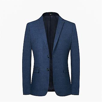 Allthemen Men's Autumn&Spring Blazer Solid Business Casual Suit Jacket