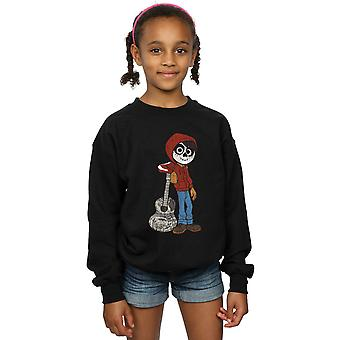 Disney Girls Coco Miguel With Guitar Sweatshirt