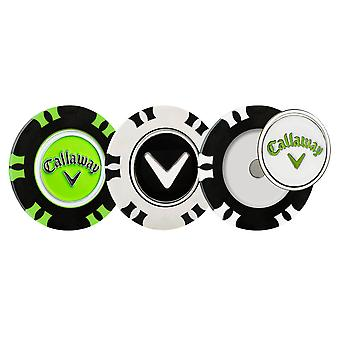 Callaway Unisex 2019 Golf Dual Mark Magnetische Poker Chips