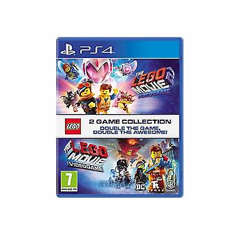 LEGO Games LEGO Movie 1 & 2 Double Pack PS4