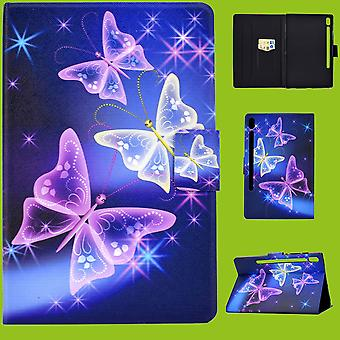 For Samsung Galaxy Tab A 10.5 T590 / T595 2018 Motif 56 Pocket Art Leather Case Case