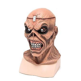 Metalen hoofd maskeren.