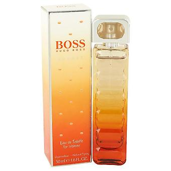 Boss orange sunset eau de toilette spray by hugo boss   492857 50 ml