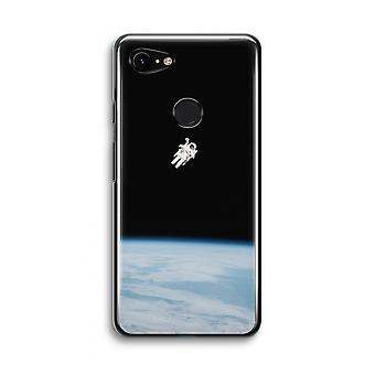 Google Pixel 3 Transparent Case (Soft) - Alone in Space