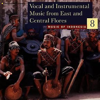 Música da Indonésia 8 - Vocal & Instrumental Music Fro [CD] EUA importação