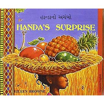 Handa's Surprise in Gujarati and English by Eileen Browne - Eileen Br