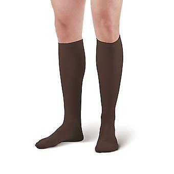Pebble Royaume-Uni Hommes Chaussettes de soutien [Style P103] Brown XL