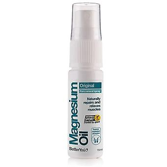 BetterYou Magnesium Oil Spray 15ml