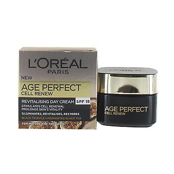 L'Oreal Paris Age Perfect Cell Renew Advance Restoring Day Cream 50ml Regeneration Action with SPF15