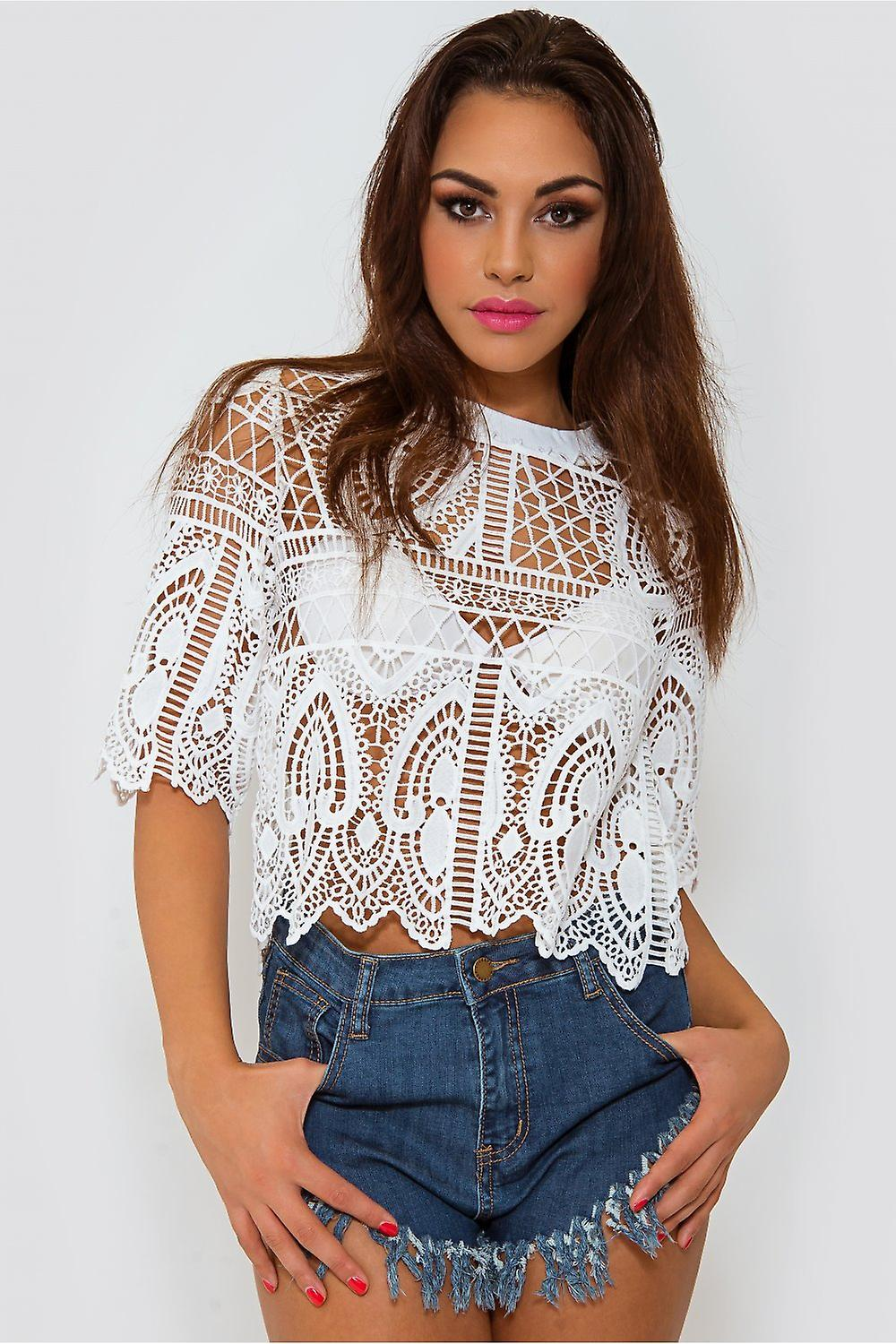 Limited Edition Lace Boxy Top