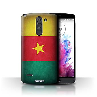 STUFF4 Case/Cover for LG G3 Stylus/D690/Cameroon/Cameroonian/Flags