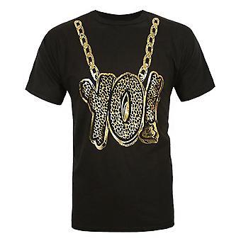 Junk Food MTV Yo! Raps Classics Gold Chain Men's T-Shirt