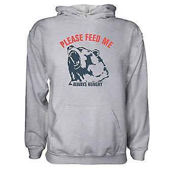 Herre Sweatshirts Hættetrøje-Venligst Feed Me