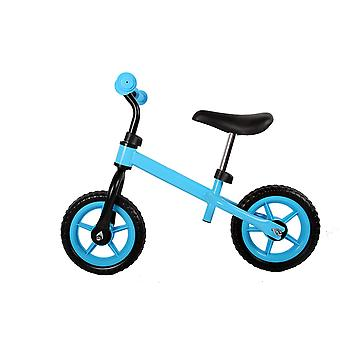 RideonToys4u Balance Bike with 10 inch EVA Wheels Blue Ages 3-6 Years