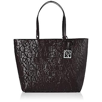 ARMANI EXCHANGE 942650CC794 Black Women's shoulder bag (BLACK (BLACK - BLACK 00020)) 11x40x28 cm (B x H x T)