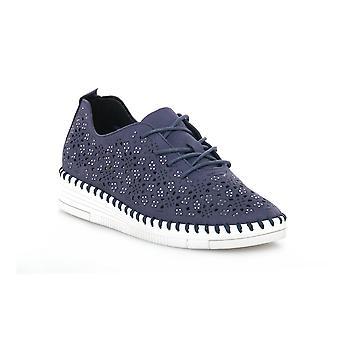 Grunland blå f6vivy skor