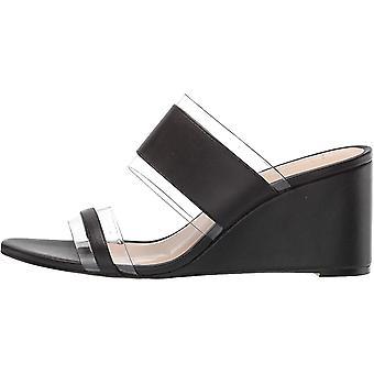 Nanette Nanette Lepore Women's Isabel Slide Sandal, Black,