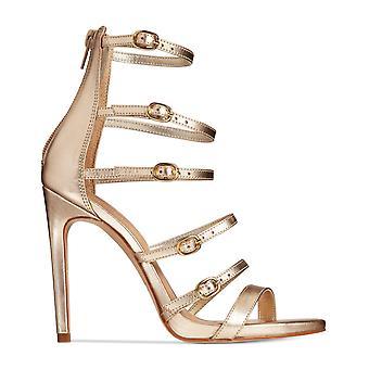 Aldo Womens Nandra Leather Open Toe Special Occasion Strappy Sandals