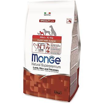 Monge Pienso Natural Perros NS Puppy & Junior mini cordero y arroz 2,5 KG