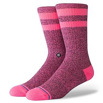 Stance Inline Men's Socks ~ Joven pink black