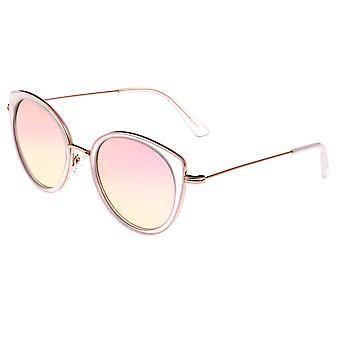 بيرثا ريس النظارات الشمسية المستقطبة - واضح / روز الذهب