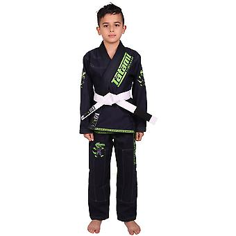 Tatami Fightwear Meerkatsu Kids Animal BJJ Gi - Navy