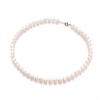 David Deyong Freshwater Pearl & Sterling Silver Classic 8mm Strand Necklace