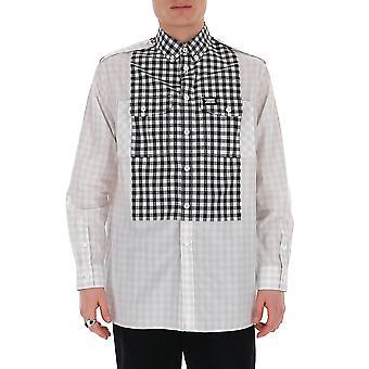 Burberry 4563048a8216 Männer's weiße Baumwolle Shirt