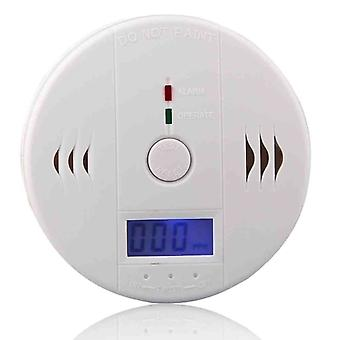 Lcd Co Carbon Monoxide Detector Poisoning Gas Fire Warning Safe Alarm Sensor