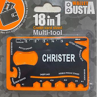 Multitool Multitool CHRISTER kredittkort debetkort