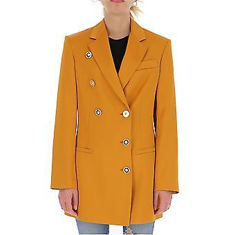 Versace A84138a231442a1167 Damen's Orange Viskose Blazer