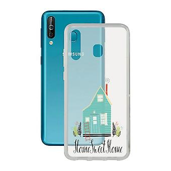 Samsung Galaxy A40s Contact Flex Home TPU Mobile Phone Protection