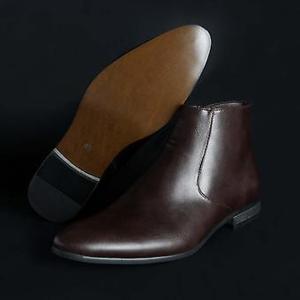 Duca di Morrone Original Men Fall/Winter Ankle Boot - Brown Color 29836
