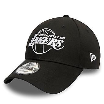 ニューエラ 9フォーティスナップバックキャップ - NBAロサンゼルスレイカーズブラック
