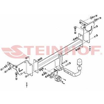 Steinhof Towbar (fixiert 2 Schrauben) für Jeep CHEROKEE 2014-2018