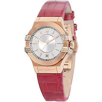 مازيراتي R8851108501 Women's Potenza ارتفع ساعة اليد نغمة الذهب