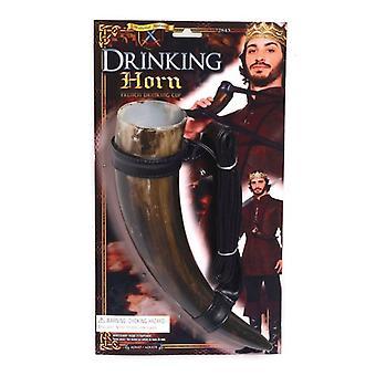 Mittelalterliches Trinkhorn