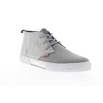 Ben Sherman Bristol Chukka  Mens Gray Lace Up Low Top Sneakers Shoes